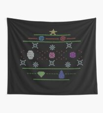 Holiday SU Gems Sweater Wall Tapestry