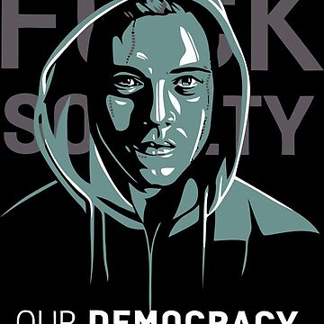 Mr. Robot - Our Democracy has been hacked by seriesclothing