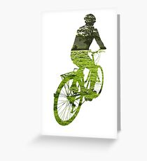 Green Transport 5 Greeting Card