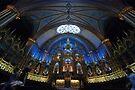 La Basilique Notre - Dame de Montreal > by John Schneider
