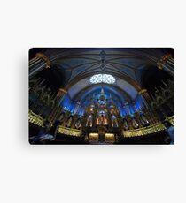 La Basilique Notre - Dame de Montreal > Canvas Print