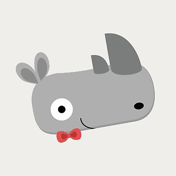 Rhinoceroses with bow ties by petitspixels