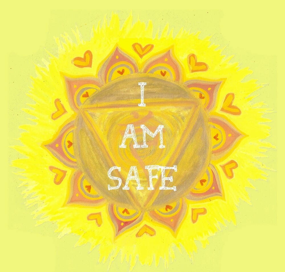 Sacral Chakra - I am Safe  by shashira