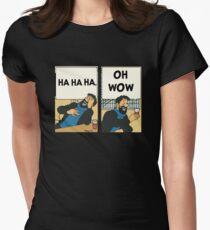Tintin - Kapitän Haddock - Oh Wow Tailliertes T-Shirt