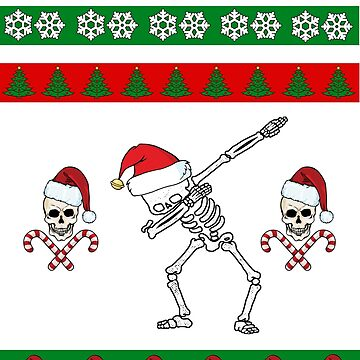 Ugly Sweater - Skull Christmas dab by Highxman