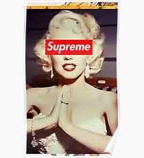 Marilyn Monroe Supreme Poster