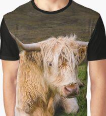 Scottisch Highland cow Graphic T-Shirt