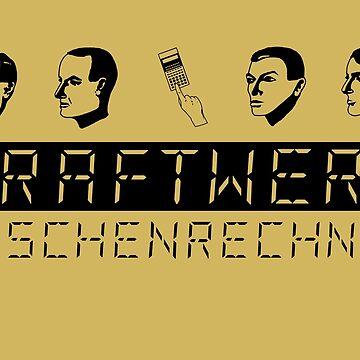 Kraftwerk Taschenrechner (black) by jotibbs