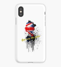 God save the Queen #2 iPhone Case/Skin