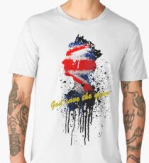 God save the Queen #2 Men's Premium T-Shirt