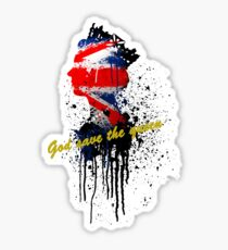 God save the Queen #2 Sticker