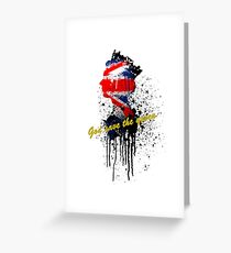 God save the Queen #2 Greeting Card