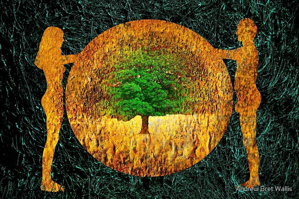 Tree of Life - Garden of Eden by Andrew Bret Wallis
