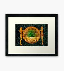 Tree of Life - Garden of Eden Framed Print
