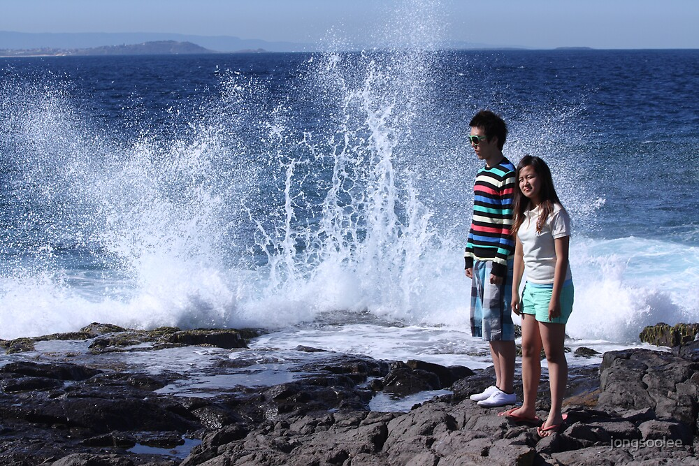 wave spray by jongsoolee