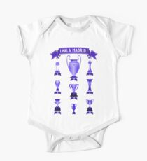 Hala Real Madrid infographic palmares trophies Kids Clothes