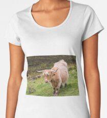 Scottisch Highland cow Women's Premium T-Shirt