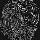 Koi/Skull by Strange City