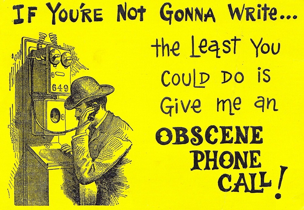 Missing you obscene phone call greeting wish you were here by missing you obscene phone call greeting wish you were here m4hsunfo