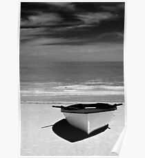 Day at the Beach - B&W. Poster