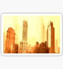 Park Avenue and 39th Street Reworked No. 9, Series 6b Sticker