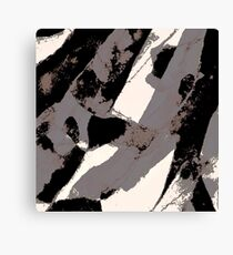 Organic No.1 Abstract #muted #redbubble #artprints #fineart Canvas Print