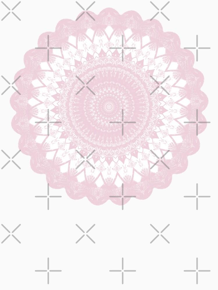 Boho Pink Mandala by kellydietrich