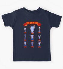 Barcelona mes que un club infographic palmares trophies Kids Clothes