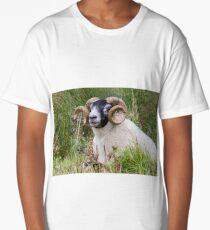 Ram with horns Long T-Shirt