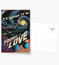 YOUNG AND IN LOVE Postcards