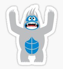 ABdominal Snowman Sticker