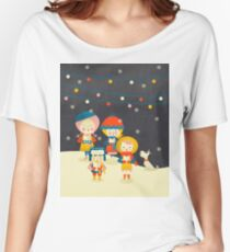 Christmas Carols Singers Women's Relaxed Fit T-Shirt