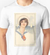 'Hello Sailor' vintage british naval illustration T-Shirt