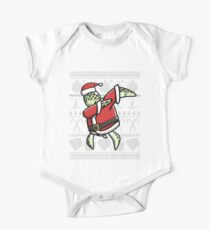 Dabbing Turtle Ugly Christmas Sweater Graphic Kids Clothes