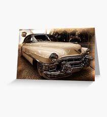 Cadillac #9 Greeting Card