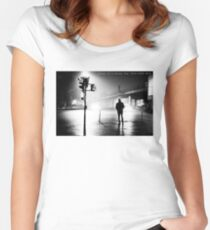 Diary of a Stray Dog 2006-20XX #031 Women's Fitted Scoop T-Shirt