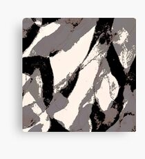 Organic No.3 Abstract #muted #redbubble #artprints #fineart Canvas Print