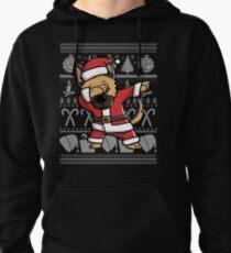 Dabbing German Shepherd Ugly Christmas Sweater Graphic Pullover Hoodie