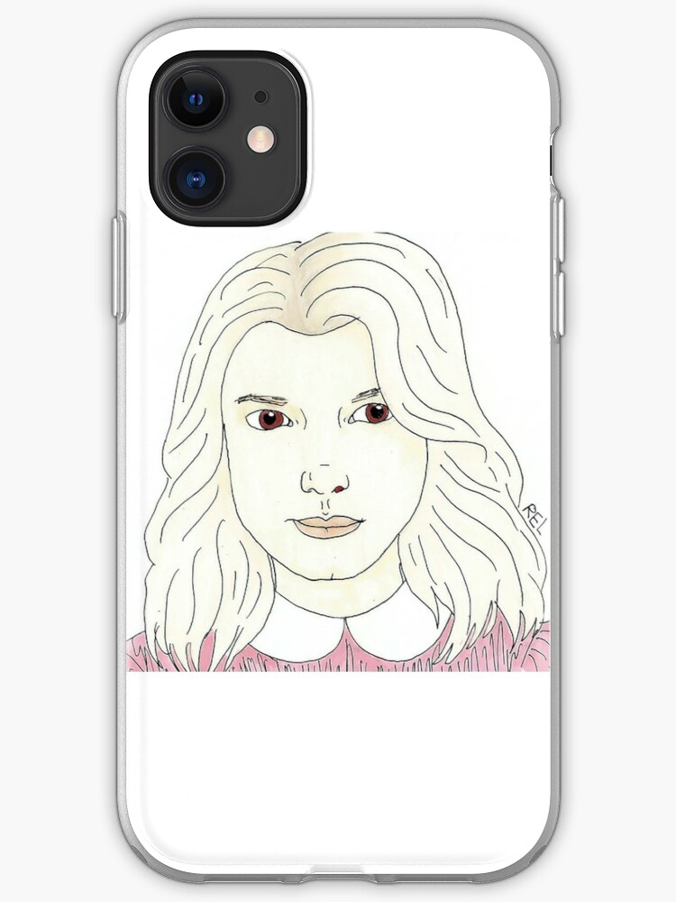 Will Drawing (Stranger Things) iphone 11 case