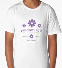 Random Acts of Flowers, Established 2008 Long T-Shirt