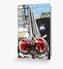 The Cadillac Rocket Look  Greeting Card