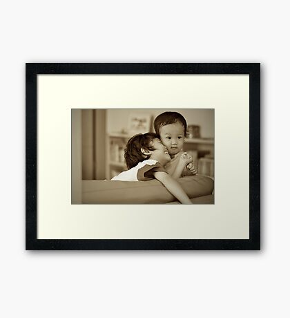 Better Together Framed Print