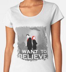 The X-Files Women's Premium T-Shirt