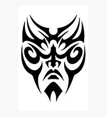 Mask Tribal Photographic Print