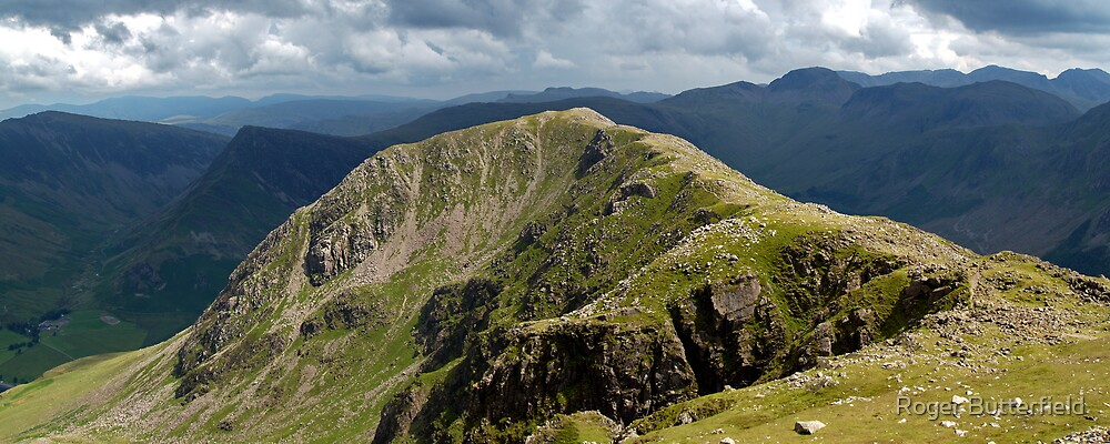 High Crag by Roger Butterfield
