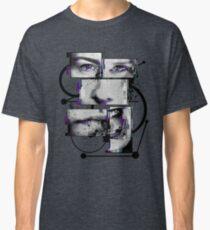 Split Mind (abstract art) Classic T-Shirt