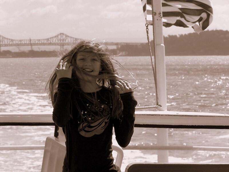 Windy Ferry by Joci Solano