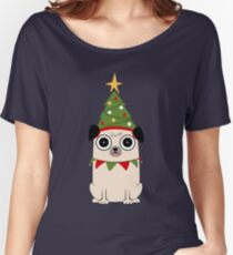 It's Christmas for Pug's sake Women's Relaxed Fit T-Shirt