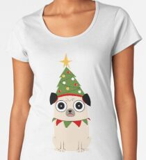 It's Christmas for Pug's sake Women's Premium T-Shirt