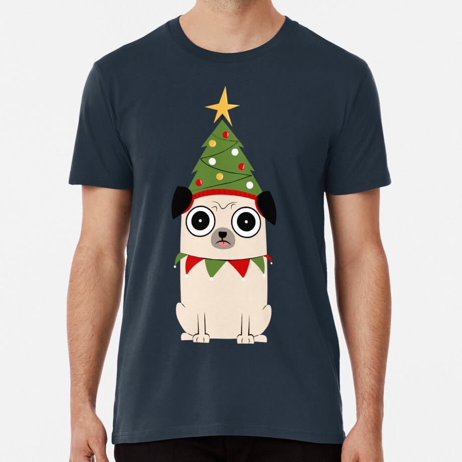 It's Christmas for Pug's sake Premium T-Shirt